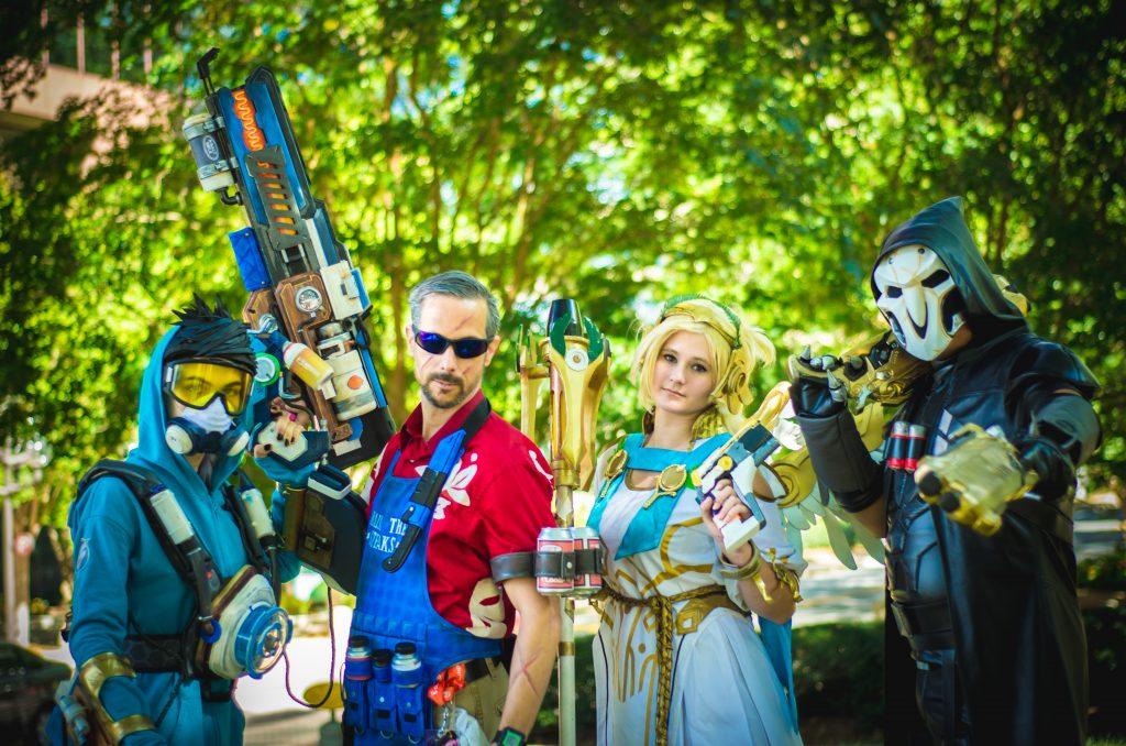 Overwatch Group Shot