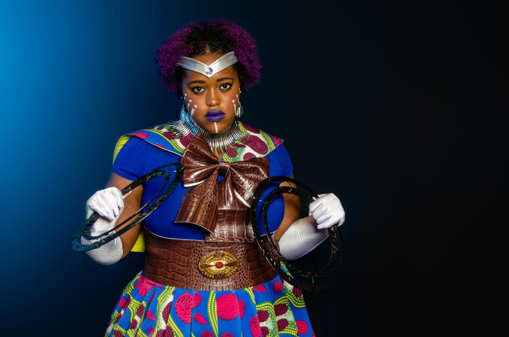 Wakanda Moon cosplay